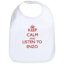 Keep Calm and Listen to Enzo Bib