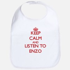 Keep Calm and Listen to Enzo Bib