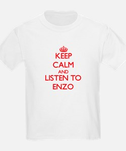 Keep Calm and Listen to Enzo T-Shirt