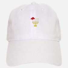 Hanukkah And Christmas Baseball Baseball Baseball Cap