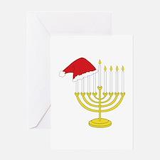 Hanukkah And Christmas Greeting Cards