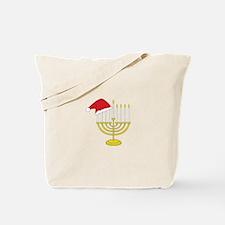 Hanukkah And Christmas Tote Bag