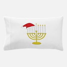 Hanukkah And Christmas Pillow Case