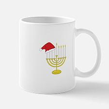 Hanukkah And Christmas Mugs