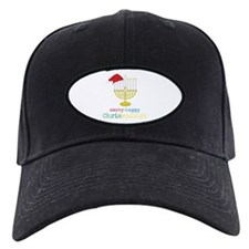 merry-happy Chrismukkah Baseball Hat