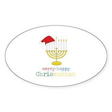 merry-happy Chrismukkah Decal
