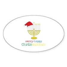 merry-happy Chrismukkah Decal