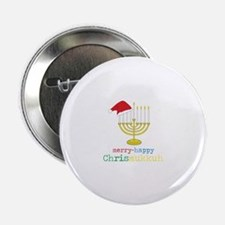 "Chrismukkuh 2.25"" Button (100 pack)"