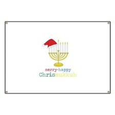 merry-happy Chrismukkah Banner