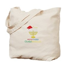 merry-happy Chrismukkah Tote Bag