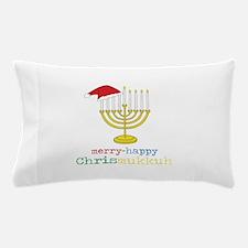 merry-happy Chrismukkah Pillow Case