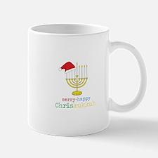 merry-happy Chrismukkah Mugs