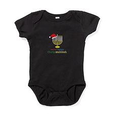 merry-happy Chrismukkah Baby Bodysuit
