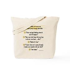 Cute Infertility Tote Bag