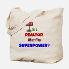 Realtor Super Power Tote Bag