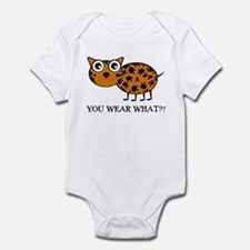 YOU WEAR WHAT LEAPORD Infant Bodysuit