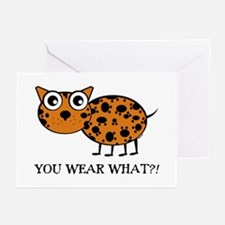 YOU WEAR WHAT LEAPORD Greeting Cards (Pk of 10
