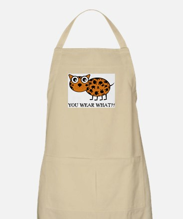 YOU WEAR WHAT LEAPORD BBQ Apron