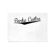 Burke Centre, Retro, 5'x7'Area Rug