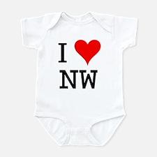 I Love NW Infant Bodysuit