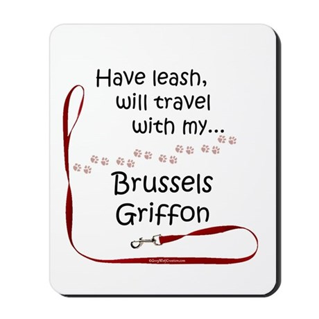 Brussels Travel Mousepad