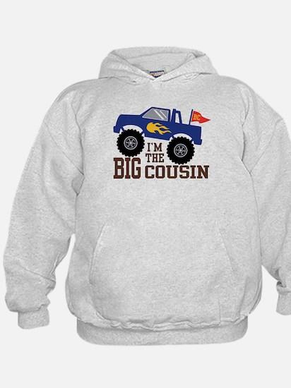 Big Cousin Monster Truck Hoodie