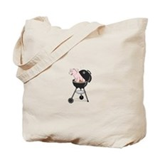 Pig Roast Tote Bag