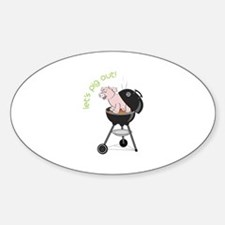 lets pig out! Decal