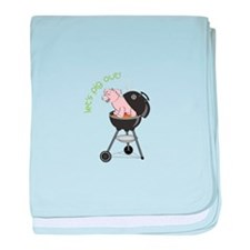 lets pig out! baby blanket