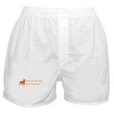 Save The Pit Bull.. Boxer Shorts