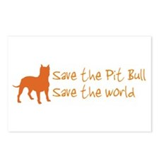 Save The Pit Bull.. Postcards (Package of 8)