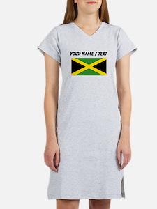 Custom Jamaica Flag Women's Nightshirt