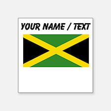 Custom Jamaica Flag Sticker