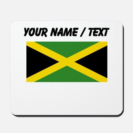 Custom Jamaica Flag Mousepad
