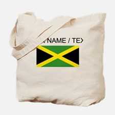 Custom Jamaica Flag Tote Bag