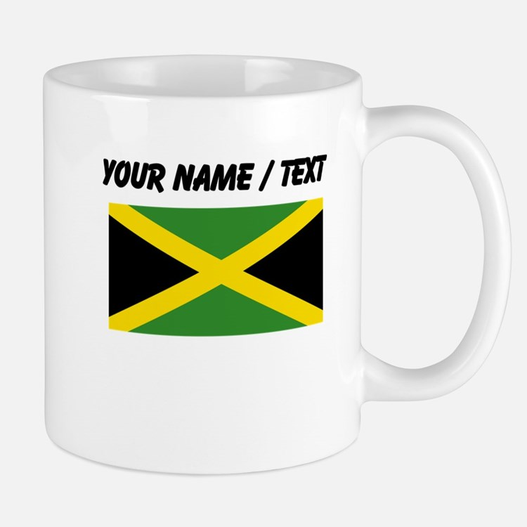 Custom Jamaica Flag Mugs