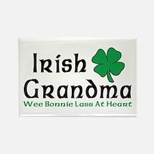 Irish Grandma Rectangle Magnet (100 pack)