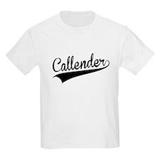 Callender, Retro, T-Shirt