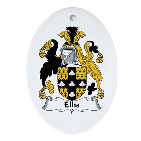 Ellis Oval Ornament