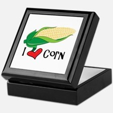 I Love CorN Keepsake Box