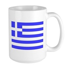 Flag of Greece 2 Sided Mug