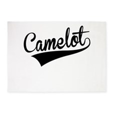 Camelot, Retro, 5'x7'Area Rug