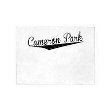Cameron Park, Retro, 5'x7'Area Rug