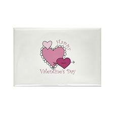 Happy Valentine's Day Magnets