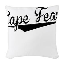 Cape Fear, Retro, Woven Throw Pillow