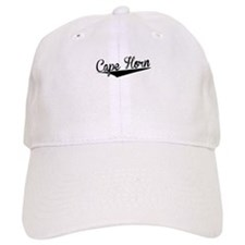 Baseball Cape Horn, Retro, Baseball Baseball Cap