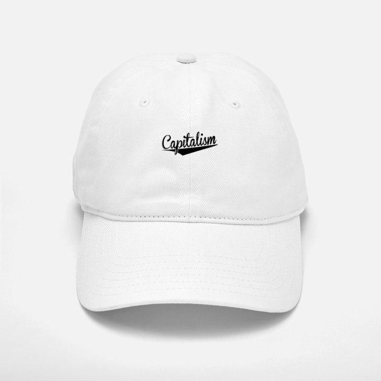 Capitalism, Retro, Baseball Baseball Baseball Cap