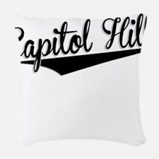 Capitol Hill, Retro, Woven Throw Pillow