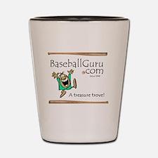 Baseball Guru Shot Glass