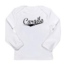 Cargile, Retro, Long Sleeve T-Shirt